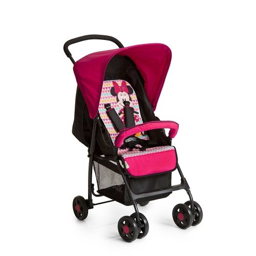 New HAUCK Disney Minnie Geo Pink Lightweight Sport Pushchair buggy Pram Stroller